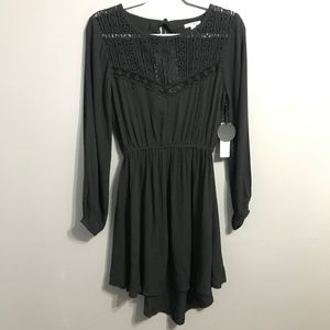 NWT Amuse Society Little Black Dress Small